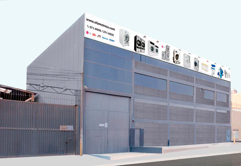 Fábrica de lavadoras industriales