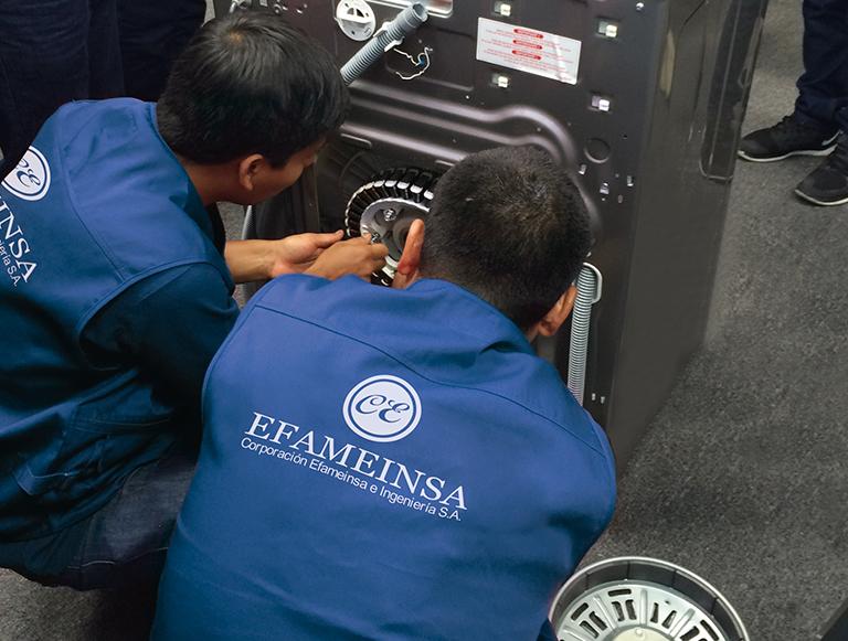 Asesoramiento de lavadoras  industriales