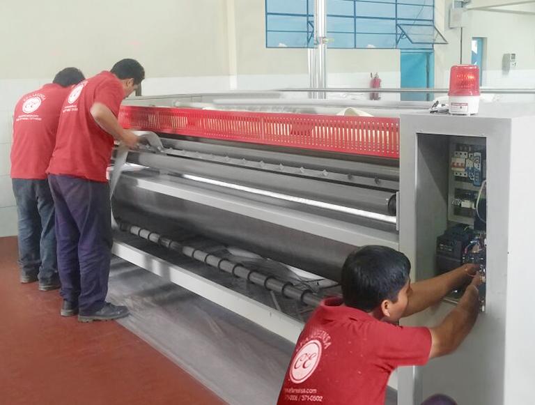 Mantenimiento de lavadoras industriales